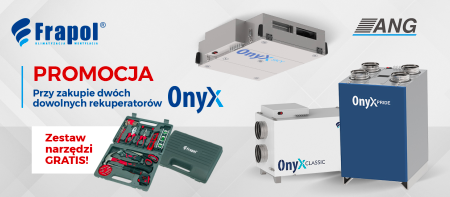 Centrale wentylacyjne ONYX